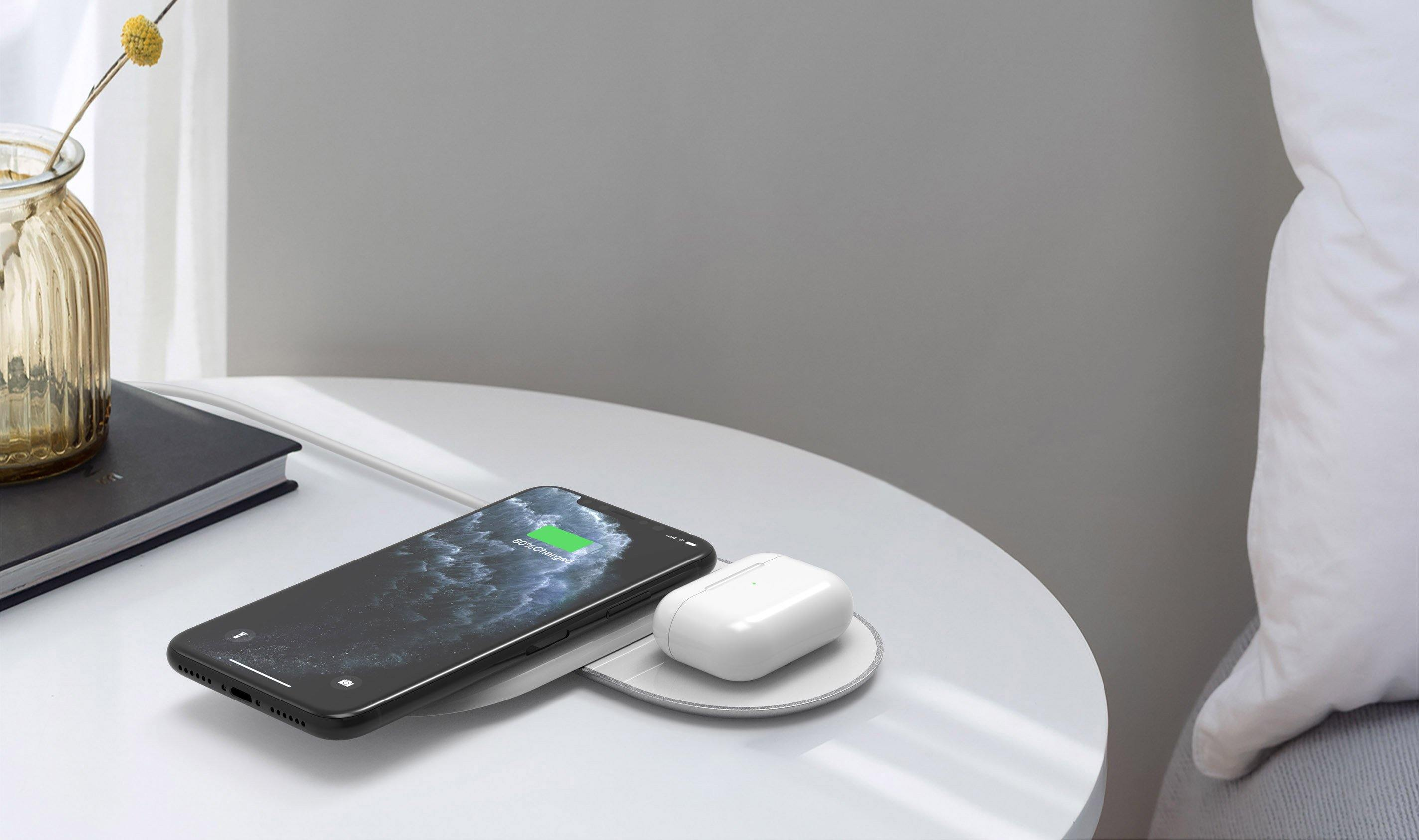 2Tango Dual Fast Wireless Charger
