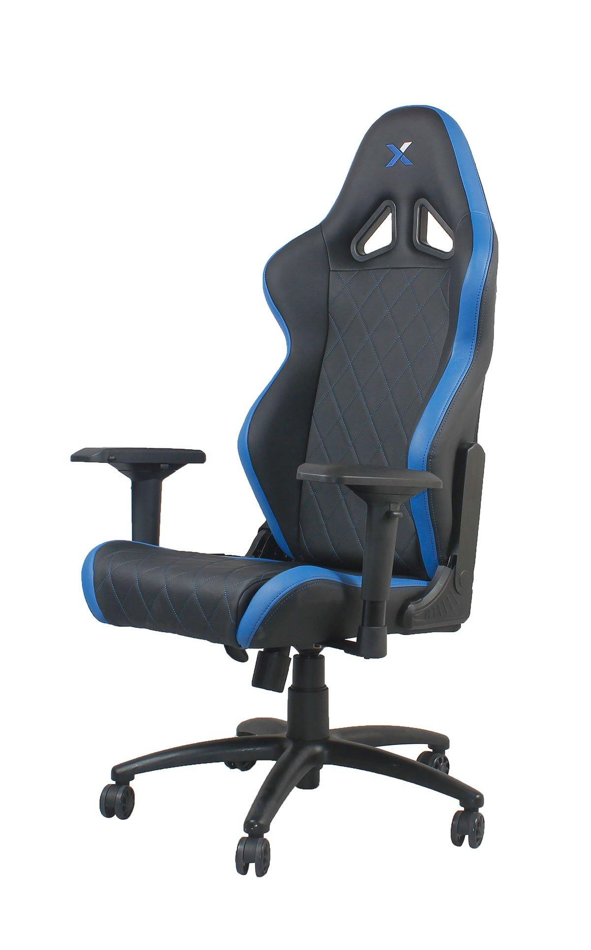 Ferrino Chair - Blue on Black