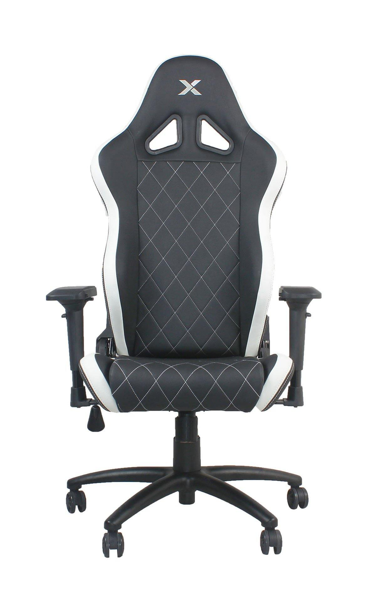 Ferrino Chair - White on Black