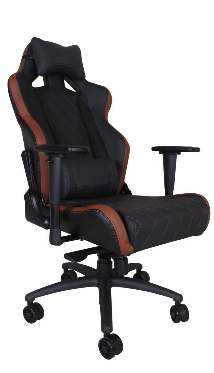 Ferrino XL Chair - Brown on Black