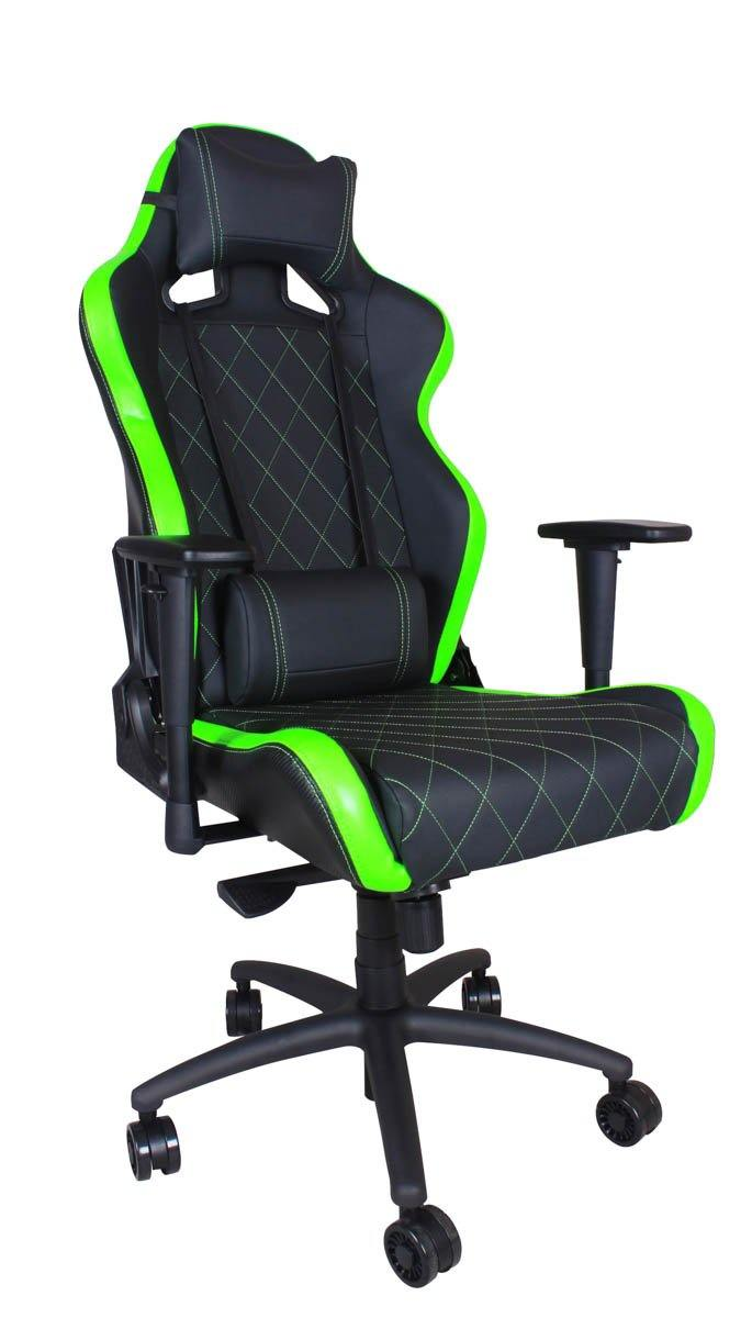Ferrino XL Chair - Green on Black