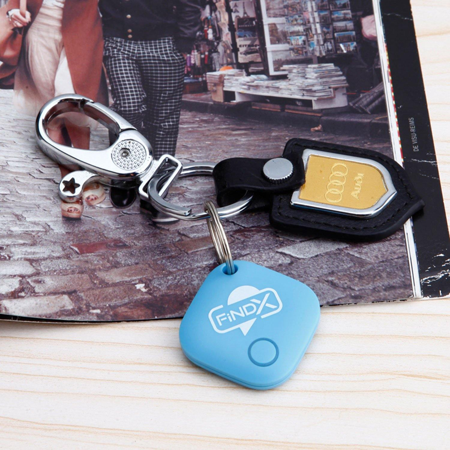 FindX Bluetooth Tracker - Blue