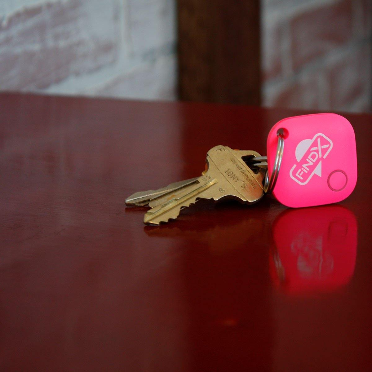 FindX Bluetooth Tracker - Pink