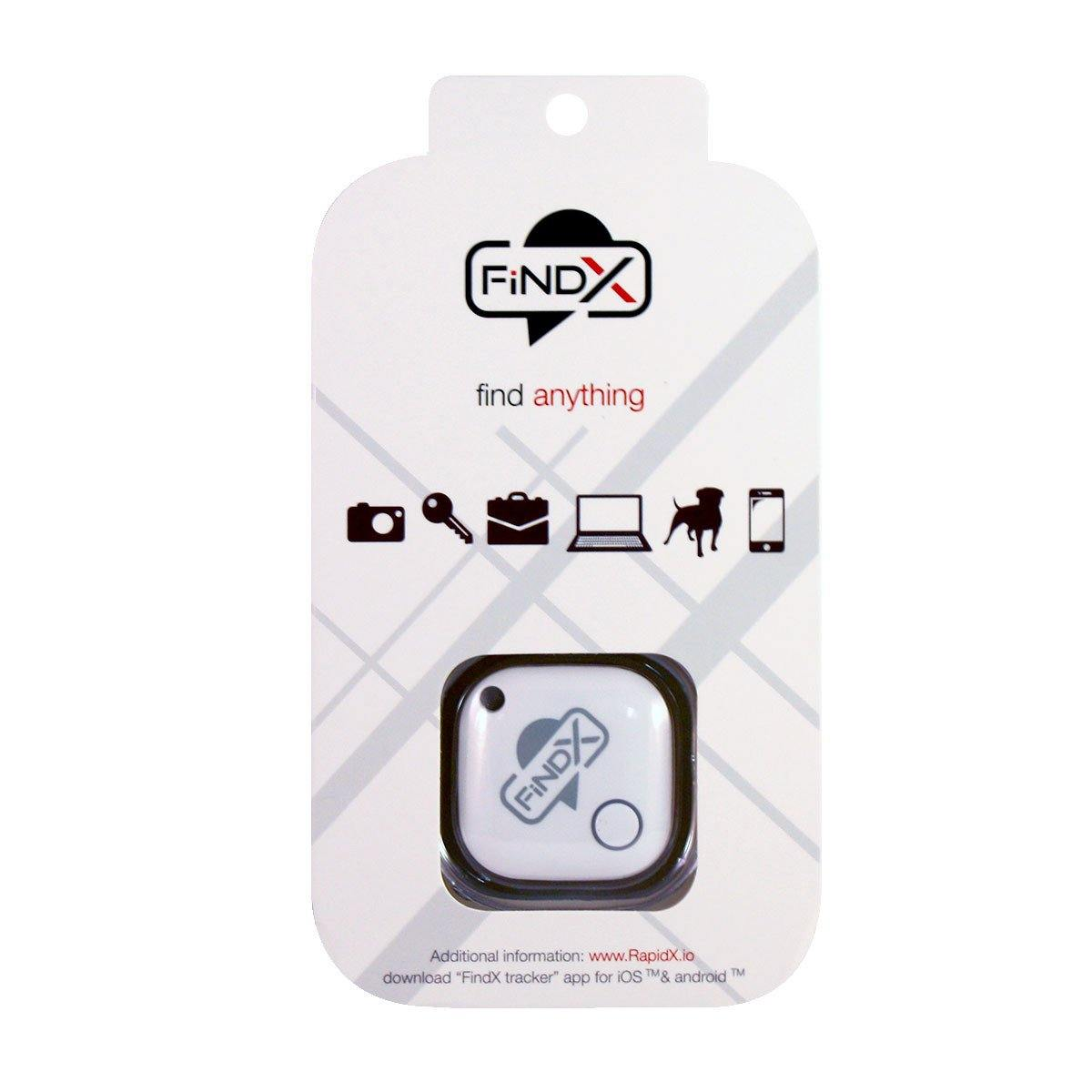 FindX Bluetooth Tracker - White