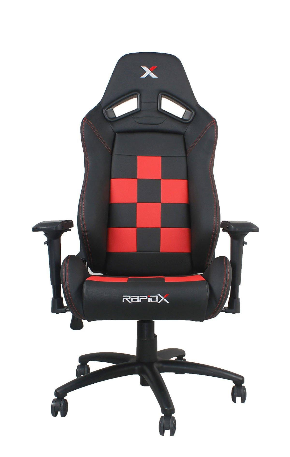 Finish Line Chair Red on Black – RapidX