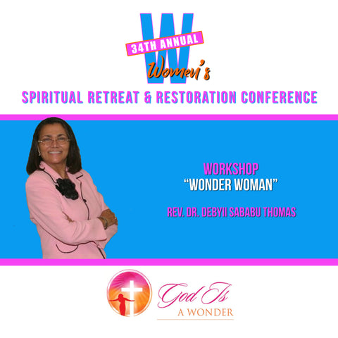 Wonder Woman - Rev. Dr. Debyii Sababu Thomas