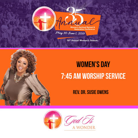 Women's Day 2019 Sunday Worship Service (7:45 am)