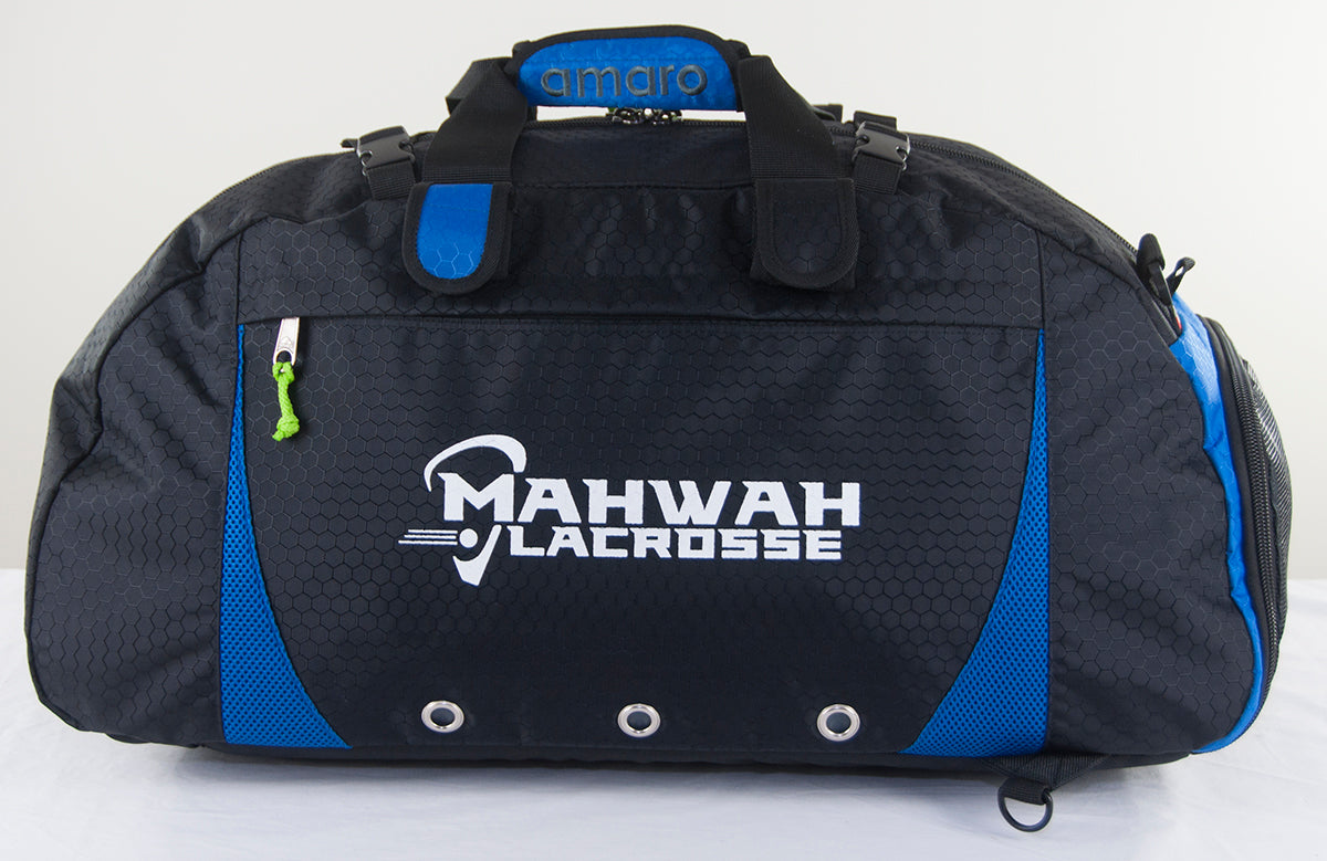 Amaro Lacrosse Equipment Bags | Convertible Duffle Bags