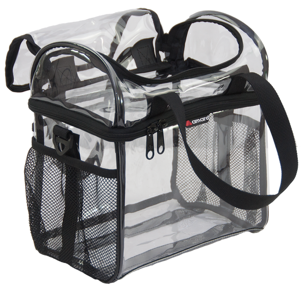 67a795f9c466 Amaro High Tower Double Deck Clear Lunch Bag For Work