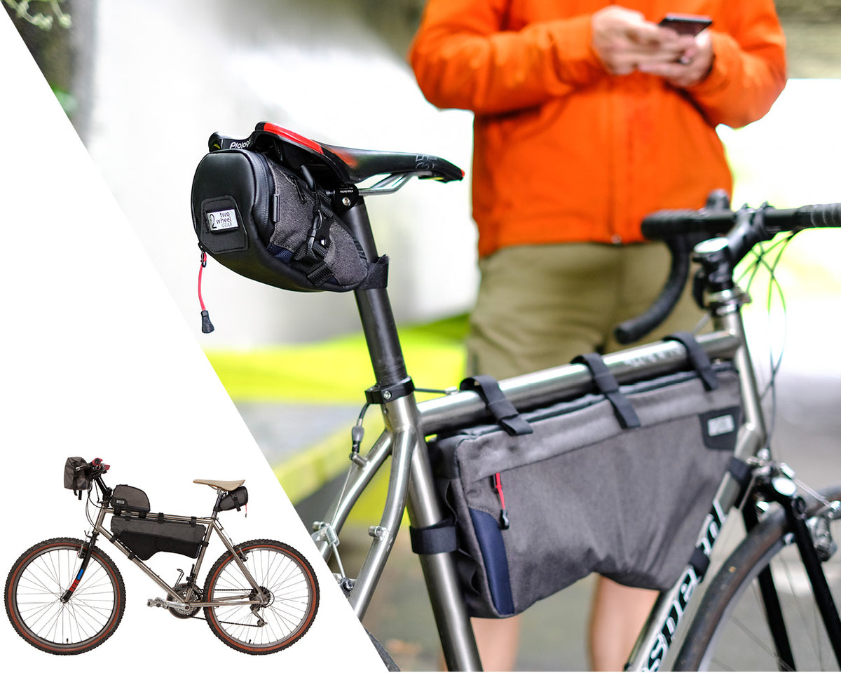 Two Wheel Gear - Seat Packs and Frame Bags for bicycles