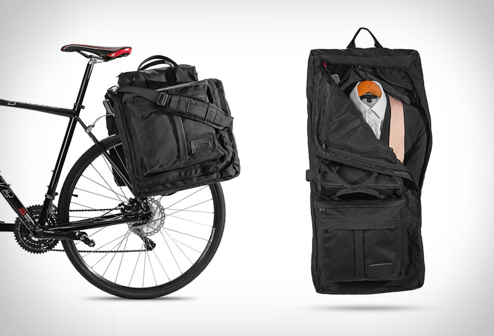 Two Wheel Gear - Garment Pannier - Bike Bag for Suits