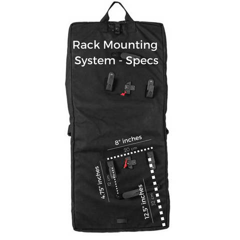 Garment Pannier - Rack Mounting Specifications