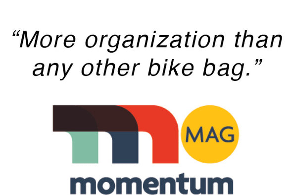 Momentum Magazine - More organization than any other bike bag