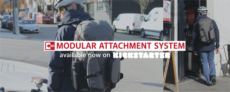 Two Wheel Gear - Modular Commute Backpack Kit - Now Live on Kickstarter