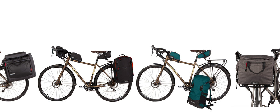 Two Wheel Gear Bicycle Bags - Panniers, Handlebar, Backpacks, Frame Bags, Seat Packs