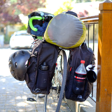 Two Wheel Gear - Pannier Backpack - Bike Touring