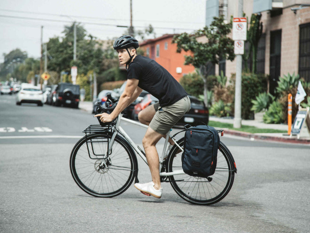 Two Wheel Gear - Pannier Backpack Convertible - Bike Commuter