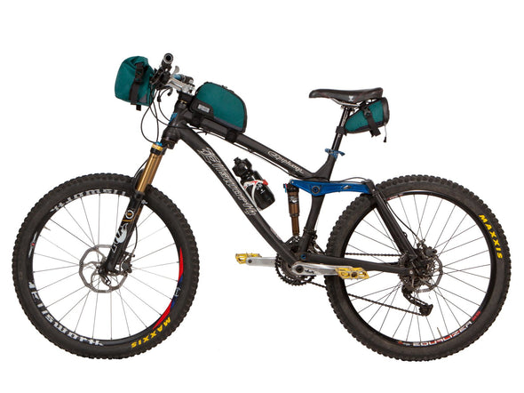 Two Wheel Gear - 3 bags on bike - Tofino Blue
