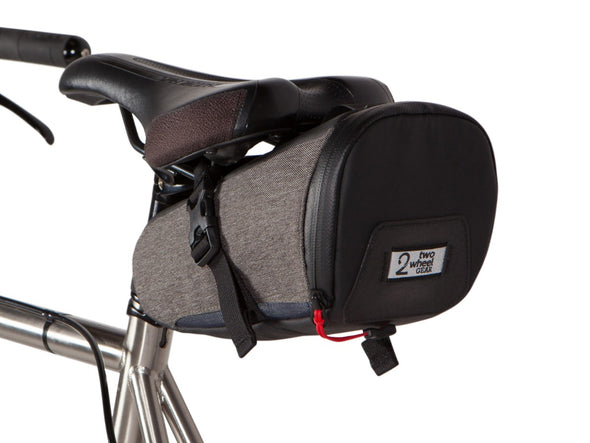 Two Wheel Gear - Commute Seat Pack - Graphite Grey - Under Bike Saddle