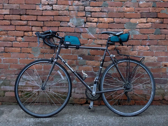 Two Wheel Gear - Commute Seat Pack and Top Tube Bag - Tofino Blue