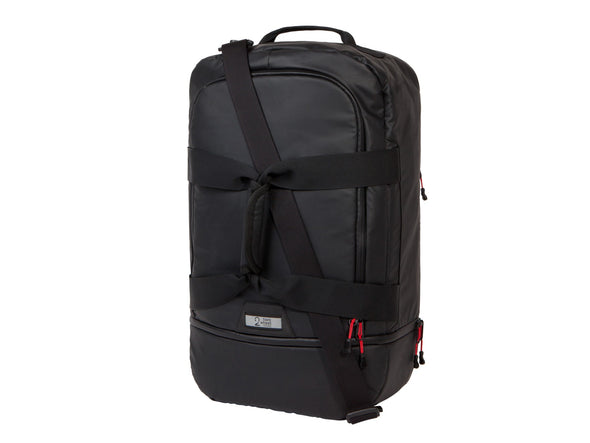 Two Wheel Gear - Pannier Duffel - Black - Bike Bag - Front
