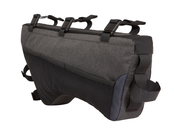 Two Wheel Gear - Bicycle Frame Bag - Large - Graphite - 6 L - Side Bike - Mesh Side