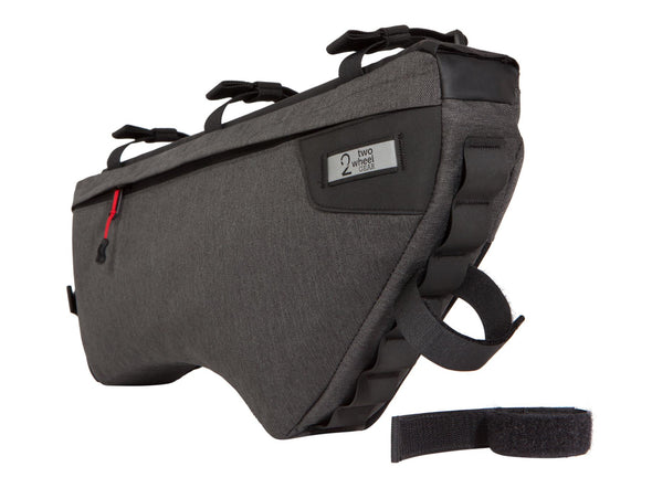 Two Wheel Gear - Bicycle Frame Bag - Large - Graphite - 6 L - Front