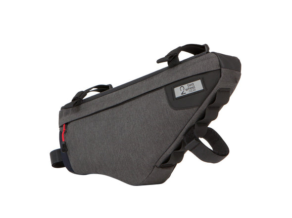 Two Wheel Gear - Bicycle Frame Bag - Graphite - 3.5 L - Side Angle