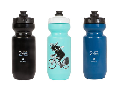Two Wheel Gear - Moose Water Bottle - 22 oz  Purist - Canadiana - 3 colors