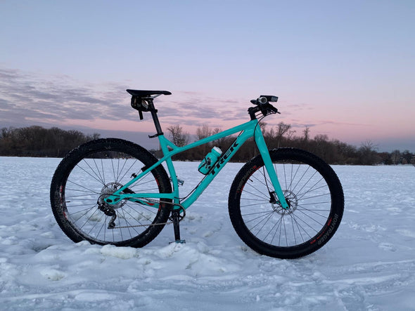 Two Wheel Gear - Water Bottle - Moose - Teal - Winter Cycling