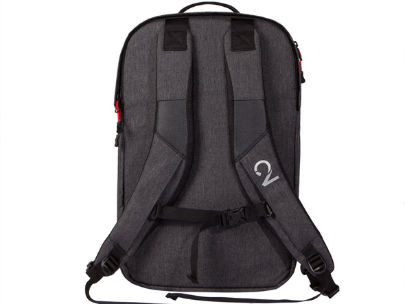 Two Wheel Gear - Pannier Backpack 2.0 - PLUS (30 L) - Graphite Straps
