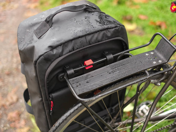 Two Wheel Gear - Pannier Duffel Bag - Black - Bike Commuter-Lifestyle - pannier