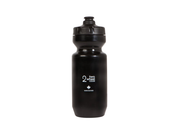 Two Wheel Gear - Moose Water Bottle - 22 oz  Purist - Canadiana - Black