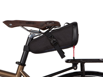 Two Wheel Gear - Bike Commute Seat Pack - Black - Under Saddle (4380826566726)