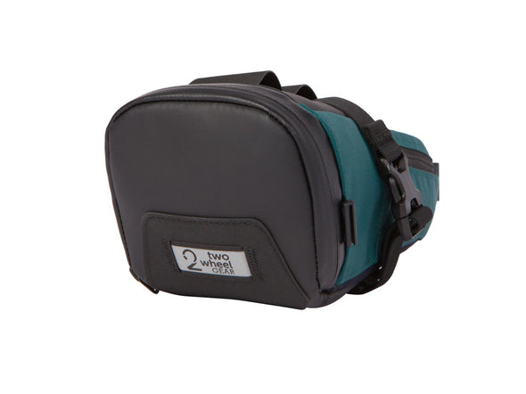 Two Wheel Gear - Bike Commute Seat Pack - Tofino Blue - Back (4380826566726)