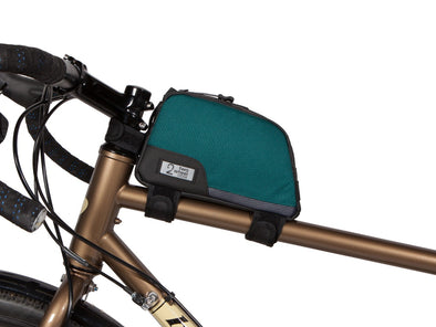 Two Wheel Gear - Bike Commute Top Tube Bag - Tofino Blue - Under Saddle (4380869066822)