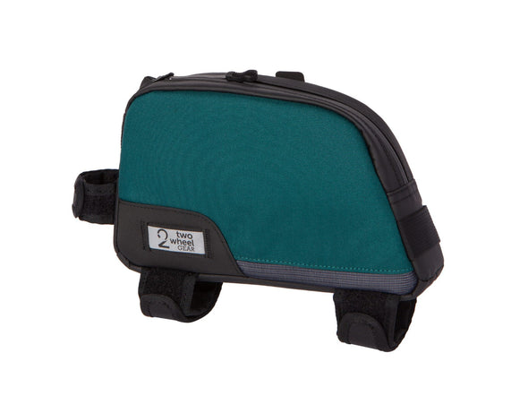 Two Wheel Gear - Bike Commute Top Tube Bag - Tofino Blue - Side Angled (4380869066822)