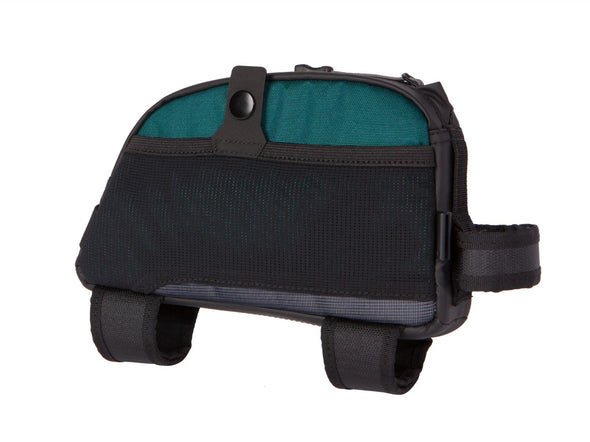 Two Wheel Gear - Bike Commute Top Tube Bag - Tofino Blue - Side Mesh (4380869066822)