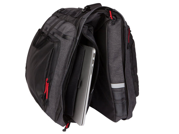 Two Wheel Gear - Classic 3.0 Garment Pannier - Graphite Grey - Bike Suit Bag - Laptop Pocket (4382346412102)