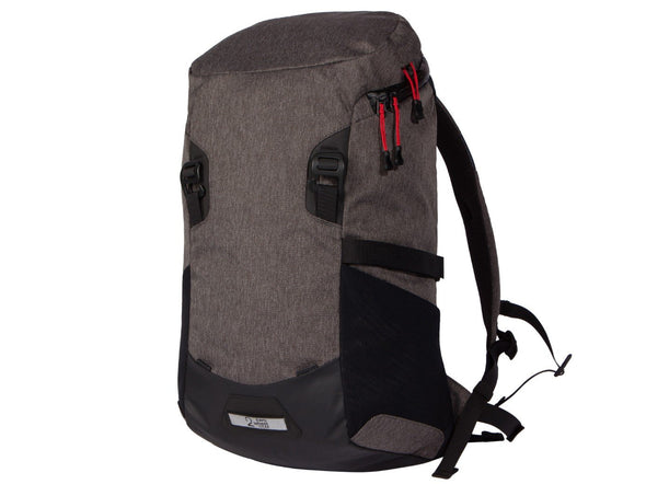 Two Wheel Gear - Commute Bike Backpack - With Modular Attachment System - Graphite Grey - Front (4380809396294)