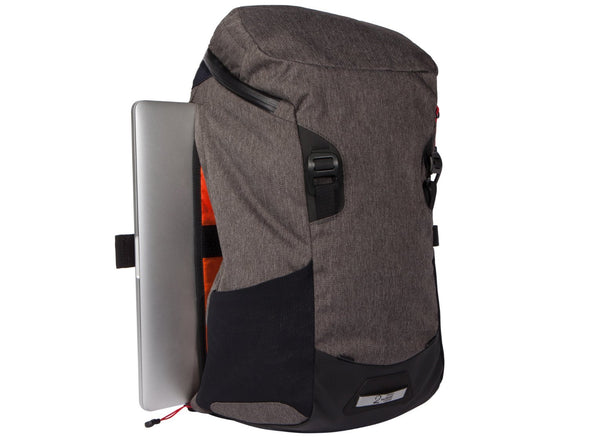 Two Wheel Gear - Commute Bike Backpack - With Modular Attachment System - Graphite Grey - Laptop Side Access (4380809396294)