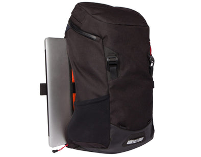 Two Wheel Gear - Commute Bike Backpack - With Modular Attachment System - Black - Laptop Side Access (4380809396294)