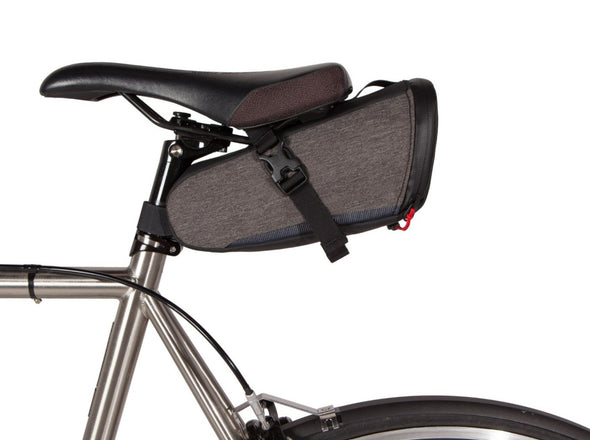 Two Wheel Gear - Commute Seat Pack - Graphite Grey - On Bike Saddle Bag (4380826566726)