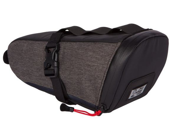 Two Wheel Gear - Commute Seat Pack - Graphite Grey - Side (4380826566726)