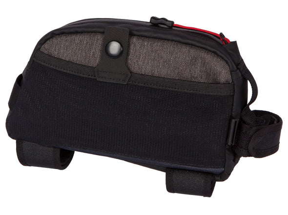 Two Wheel Gear - Commute Top Tube Bag - Graphite Grey - Side of Bike Bag (4380869066822)