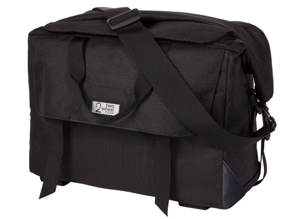 Two Wheel Gear - Dayliner Box Bag - Black - Trunk Handlebar Front (4382371676230)