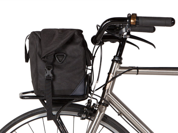 Two Wheel Gear - Dayliner Box Bag - Black - Trunk Handlebar Front Bike (4382371676230)