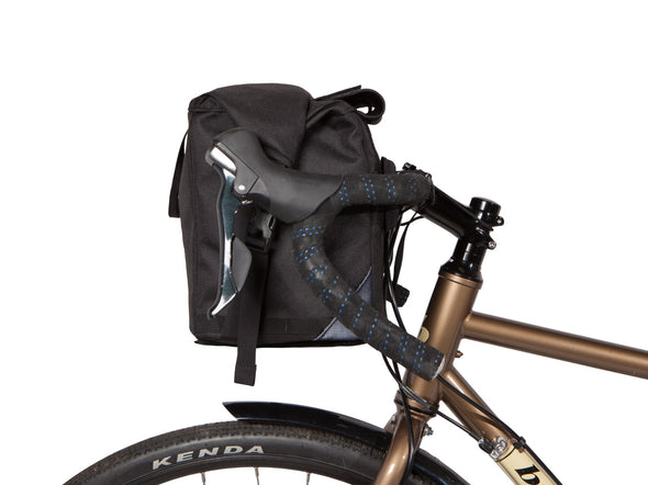 Two Wheel Gear - Dayliner Box Bag - Black - Handlebar, trunk Bag - Front Bars (4382371676230)