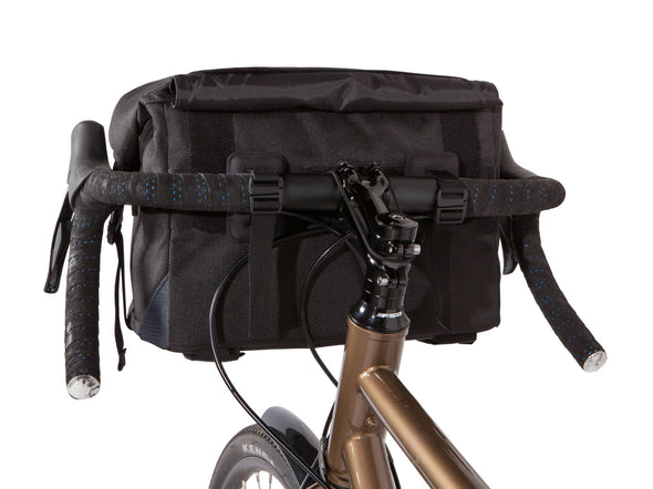 Two Wheel Gear - Dayliner Box Bag - Black - Handlebar, trunk Bag - Mounted on handlebars (4382371676230)