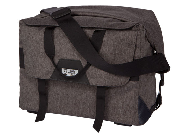 Two Wheel Gear - Dayliner Box Bag - Graphite Grey - Trunk Handlebar Front (4382371676230)